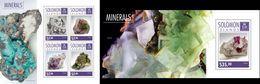 Salomon 2014, Minerals III, 4val In BF+BF - Minéraux