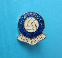 KILMARNOCK FC (The Killie) Scotland Football Soccer Club Nice Pin Badge Fussball Futbol Calcio Abzeichen Spilla Futebol - Fussball