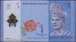 TWN - MALAYSIA 51 - 1 Ringgit 2011 Polymer - Prefix JK  - Signature: Zeti Aziz UNC - Malaysie