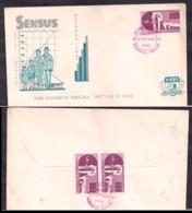 Indonesia - 1961 - FDC - Recensement De La Population - Cygnus - Indonesia