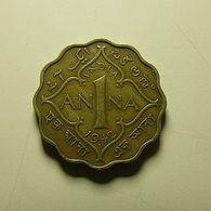 British India 1 Anna 1942 - Colonies