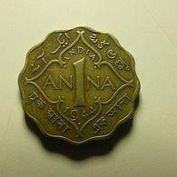 British India 1 Anna 1944 - Colonies