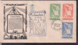 Filipinas - 1951 - FDC - Déclaration Universelle Des Droits De L'homme - Cygnus - Philippines