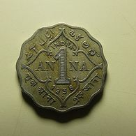 British India 1 Anna 1936 - Colonies