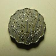 British India 1 Anna 1946 - Colonies