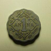British India 1 Anna 1934 - Colonies