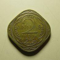 British India 2 Annas 1942 - Colonies
