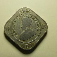 British India 2 Annas 1918 - Colonies