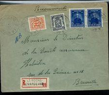 Doc. De LA ROCHE EN ARDENNE - B -  Du 27/02/53 Avec Paire N° 748 (festival Du Film-cinéma)  En Rec. - Postmark Collection