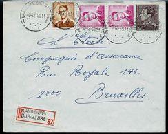 Doc. De LANDENNE - SUR - MEUSE - C C - Du 08/12/69  En Rec. - Postmark Collection