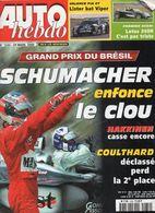 Auto Hebdo 2000 Michael Schumacher Mika Hakkinen Richard Burns Max Mamers Max Papis - Sport