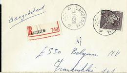 Doc. De LANDEGEM - A A - Du 09/11/65 En Rec. - Postmark Collection