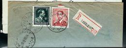 Doc. De LAMBUSART - A A - Du 29/12/53 En Rec. - Postmark Collection