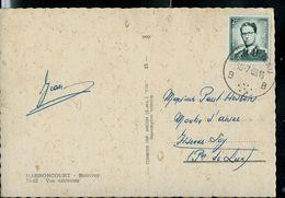 Carte-vue De Harnoncourt Avec Ol. LAMORTEAU - B B - Du 10/07/69 - Postmark Collection