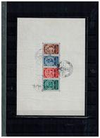 Deutsches Reich Block 2 Gestempelt  Stempel Ostropa 23.6.35 Ungeprüft - Germany