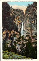 Wyoming Rainbow Falls In The Big Horn Mountains - Etats-Unis