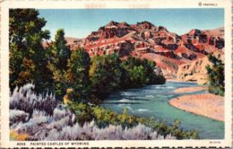 Wyoming Painted Castles Curteich - Etats-Unis