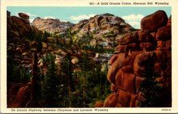 Wyoming Sherman Hill A Solid Granite Canon - Etats-Unis