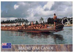 (B 23) Maori War Canoe - Guerre