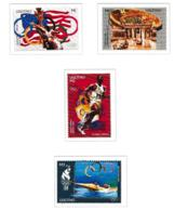 Lesotho 1996 Berlin Olympic Games 60 Years 4 Stamps MNH/** (H62) - Summer 1936: Berlin
