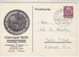 PP 131 C2 Aus COBURG 6.6.36 Rs. Leer - Brieven En Documenten