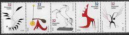 US    1998   Sc#3202a    32c  Calder Art Strip Of 5  MNH  Face $1.60 - Unused Stamps