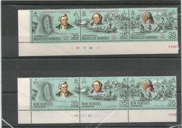 394/96 Et 398/400   Bicentenaire    Légende Anglaise Et Française Et Bdf (clasviol10) - Neufs
