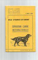 Exposition Canine-ville D'evaux-les-bains - Animaux