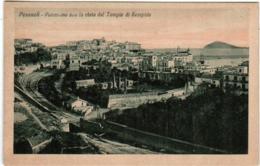 3YG 133 CPA - POZZUOLI - PANORAMA CON LA VISTA DEL TEMPIO DI SERAPIDE - Napoli (Naples)