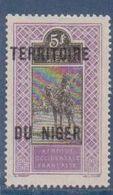 NIGER      N°  YVERT  :  17  NEUF AVEC CHARNIERES      ( CHARN  03/ 40 ) - Unused Stamps