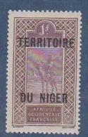 NIGER      N°  YVERT  :  15  NEUF AVEC CHARNIERES      ( CHARN  03/ 40 ) - Unused Stamps