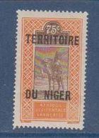 NIGER      N°  YVERT  :  14  NEUF AVEC CHARNIERES      ( CHARN  03/ 40 ) - Unused Stamps