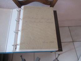 Documents De La Poste Année  1996, 42 Feuillets - Timbres