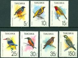 TANZANIA 1992 BIRDS** (MNH) - Songbirds & Tree Dwellers