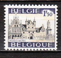 1614G1**  Mechelen - Gomme Blanche - MNH** - LOOK!!!! - Belgium