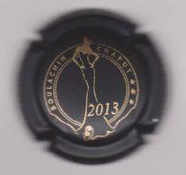 Capsule Champagne BOULACHIN_CHAPUT ( 9b ; Cuvée 2013 , Noir Mat Et Or ) {S28-20} - Champagne