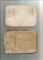 LIVRET MILITAIRE CLASSE 1916 CATHERINE CHERBOURG      Militaria Guerre - Documents Historiques