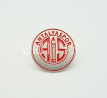 """Badge Pin: European Football Clubs Turkey -  """" Antalyaspor AS """" - Fussball"""