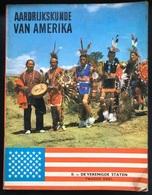 (314) Aardrijkskunde Van Amerika - De Lombard TINTIN - KUIFJE Uitgave - Deel II -1963 - Geography
