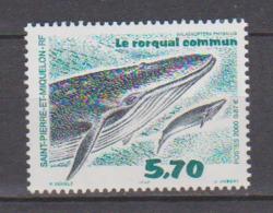 SAINT PIERRE ET MIQUELON              N° YVERT  708  NEUF SANS CHARNIERES     ( Nsch 02/ 30 ) - Unused Stamps