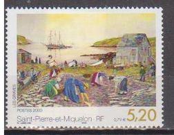 SAINT PIERRE ET MIQUELON              N° YVERT  709  NEUF SANS CHARNIERES     ( Nsch 02/ 30 ) - Unused Stamps