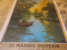 ANCIENNE  PUBLICITE LE MARAIS POITEVIN - Unclassified