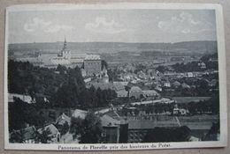 Panorama De Floreffe Pris Des Hauteurs Du Préat. Lion Héraldique 50c Bleu - Y&T 285. Walcourt - Floreffe