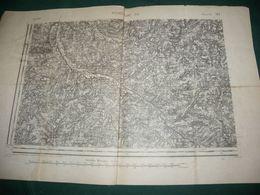 CARTE D ETAT MAJOR : ROCHECHOUART S.O. - Topographical Maps