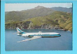 AVION----CARAVELLE---Moyen-courrier Biréacteur Construit Par Sud-aviation--voir 2 Scans - 1946-....: Ere Moderne