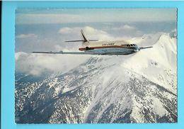 AVION----CARAVELLE---Moyen-courrier à Réaction Construit Par Sud-aviation--voir 2 Scans - 1946-....: Ere Moderne