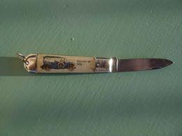 Couteau De Poche Lame Pliante Canif Daimler 38 (1910) Au Pescadou Brunori Pêche Rue Emmanuel Philibert Nice - Autres