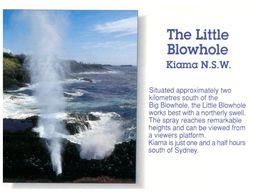 (B 25) Australia - NSW - Kiama Blowhole - Australia