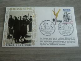 VICTOIRE-PAIX-LIBERTE - RETOUR A LA LIBERTE - Obj. 'Souvenir De'