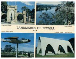 (B 25) Australia - NSW - Nowra Landmarks (with Navy Aircraft) - Australia